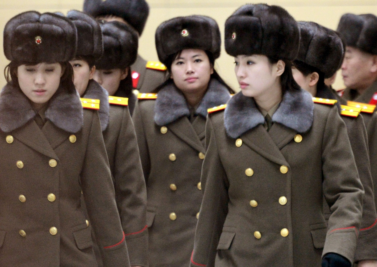 North Korea all-female music band