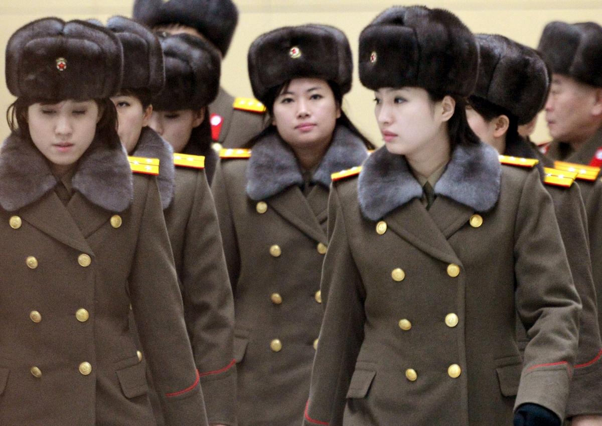North Korea all-female music band