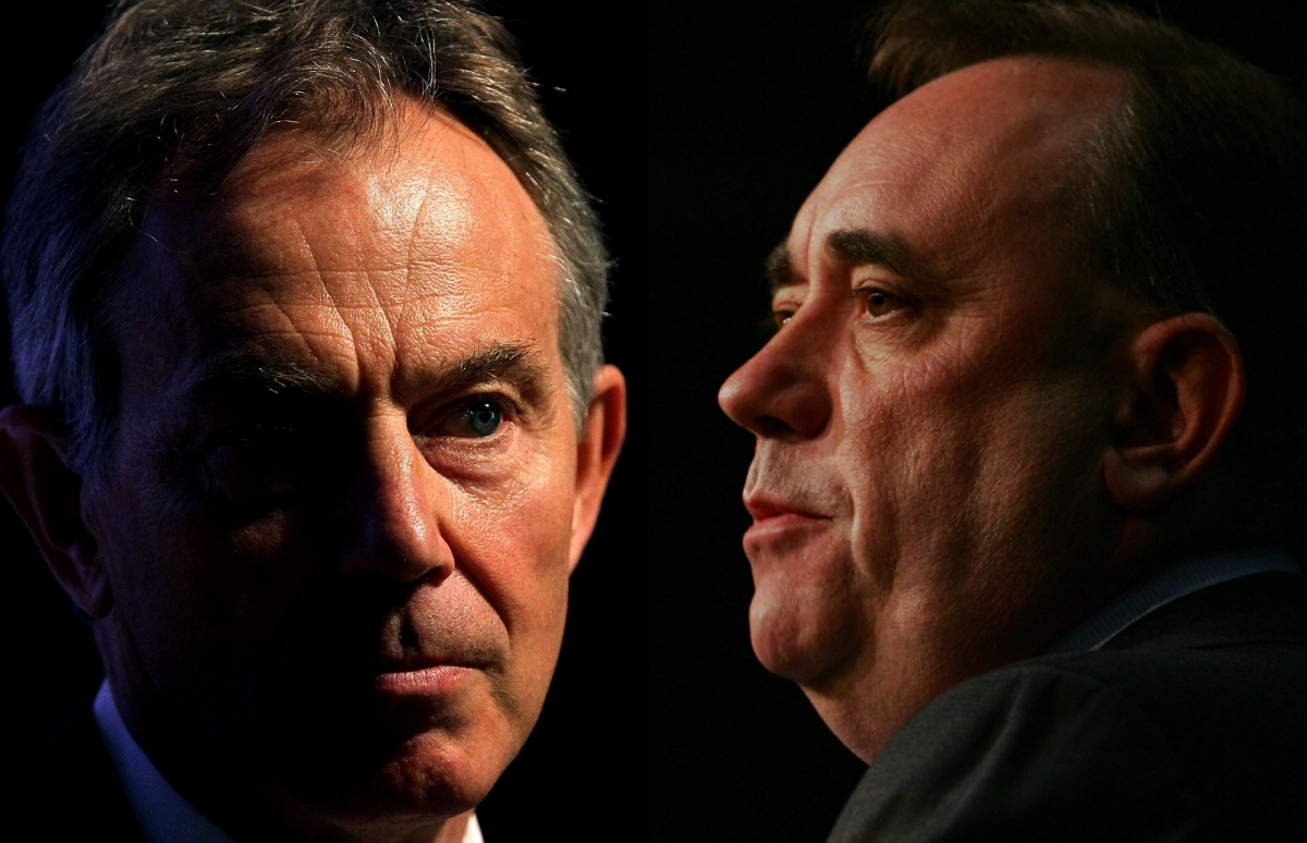 Tony Blair Alex Salmond