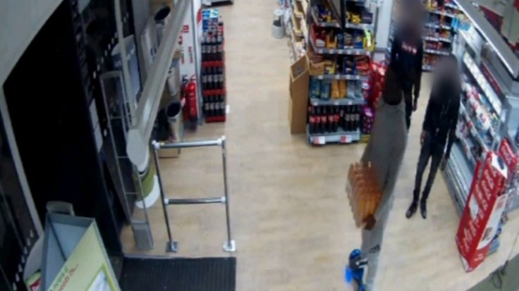 Alleged hoverboard shoplifter