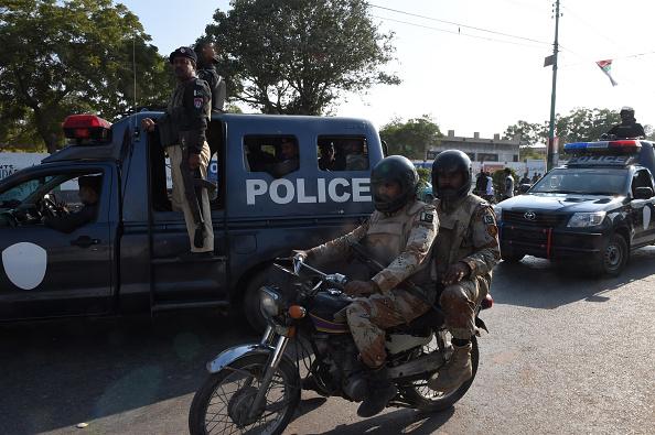 Pakistan police