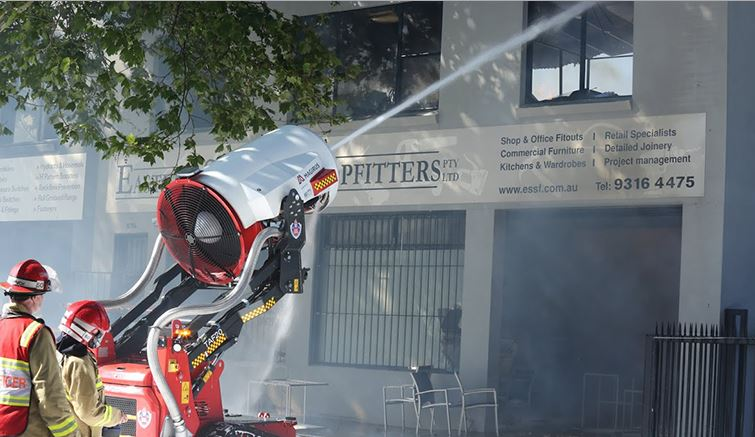 Fire-fighting robot
