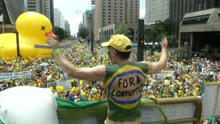 Sao Paulo protest