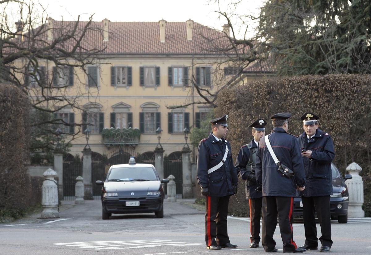 Italy prime minister Silvio Berlusconi villa