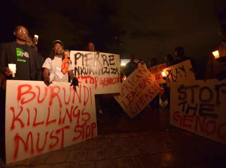 Burundi violence must stop
