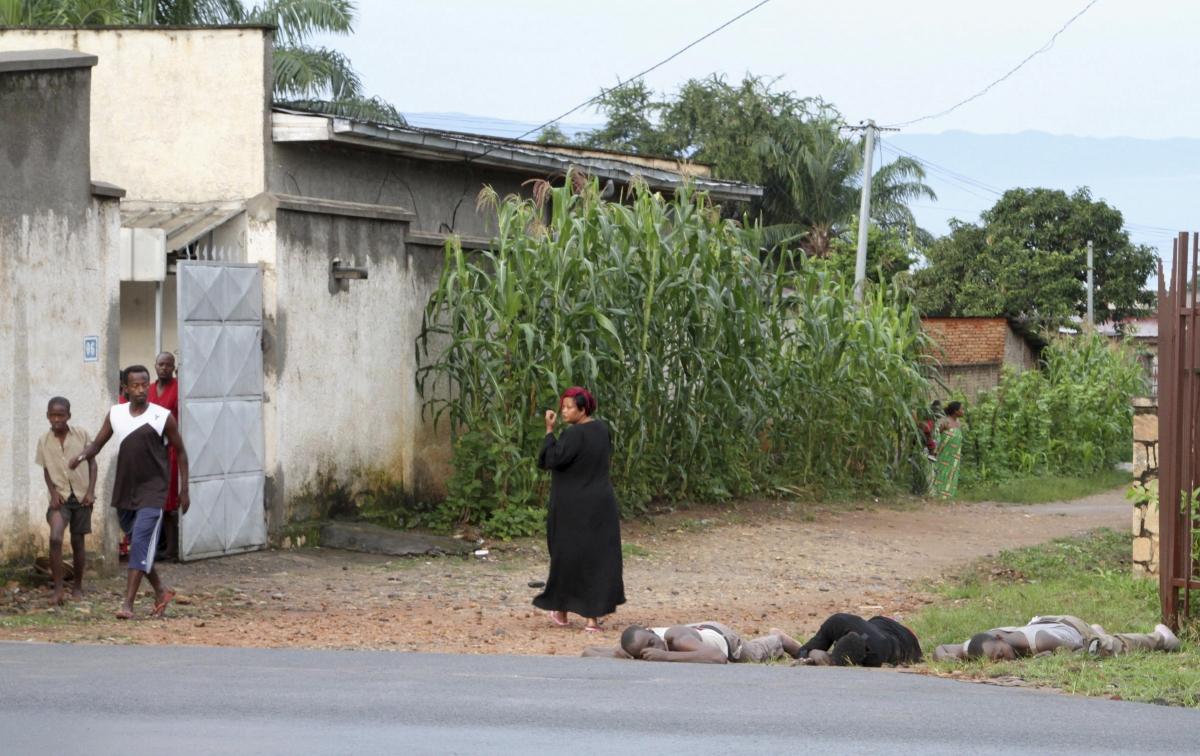 Burundi 12 December clashes