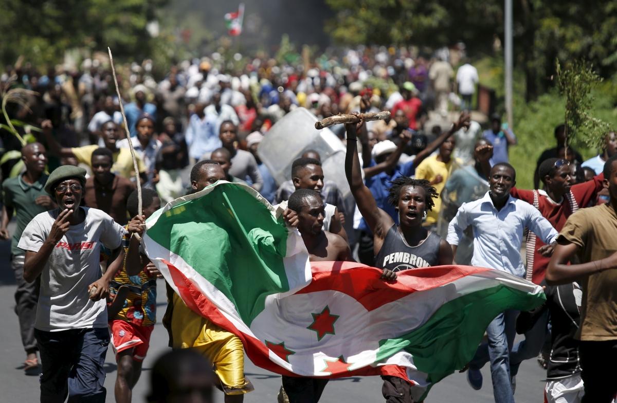 Burundi's failed coup d'etat