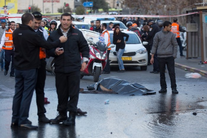 Jerusalem bus stop attack