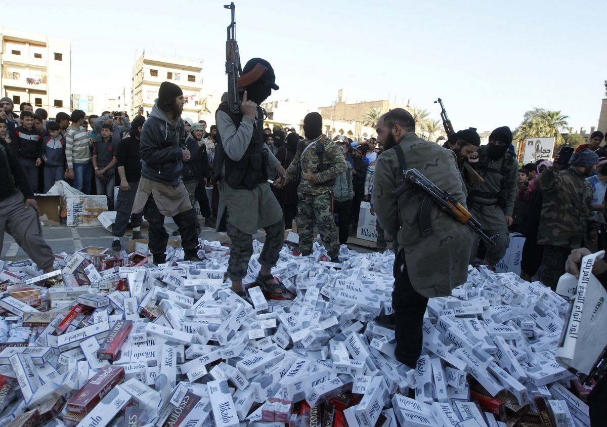 Isis confiscated goods