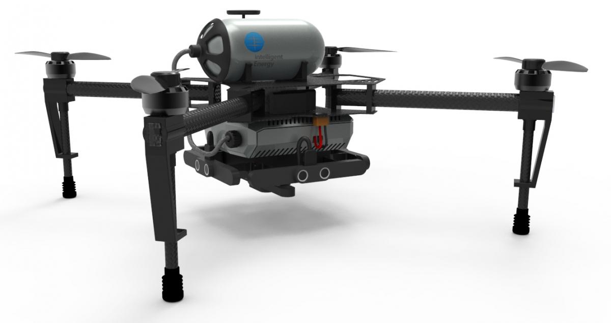 Hydrogen drone