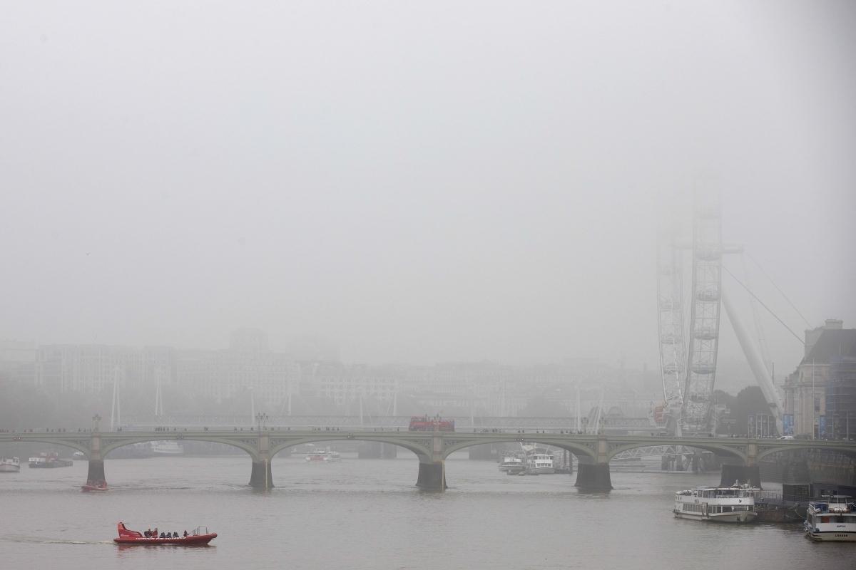 Fog over London
