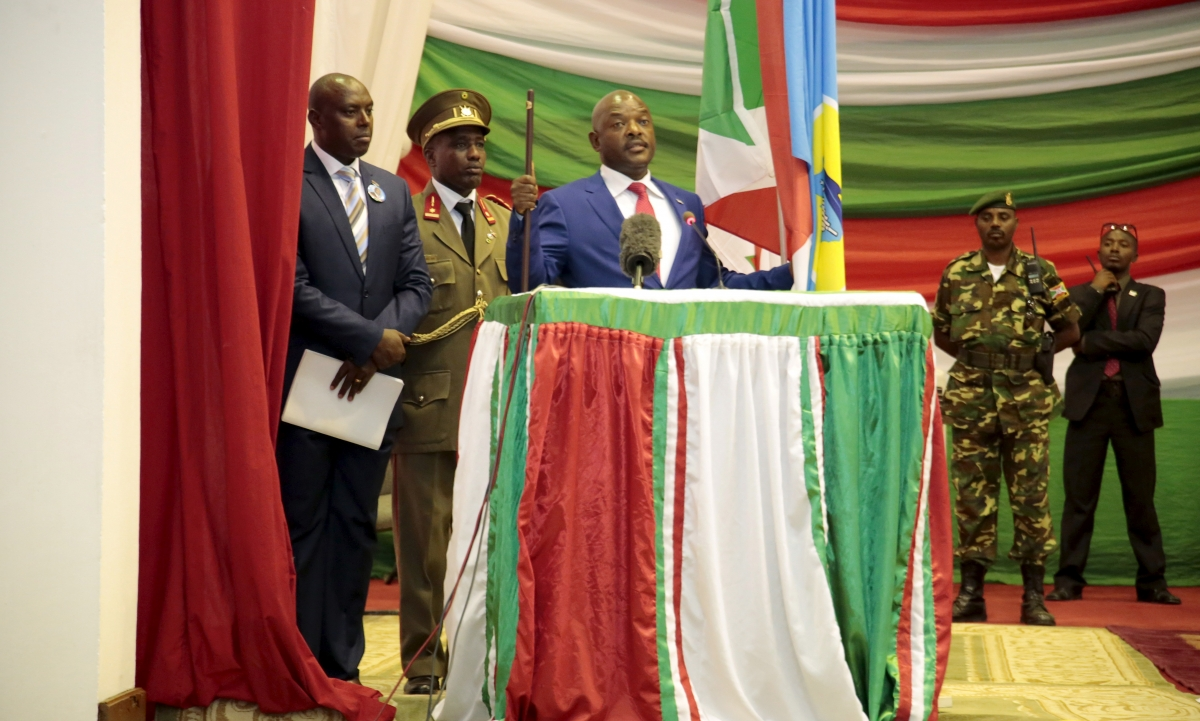 Burundi negotiation talks