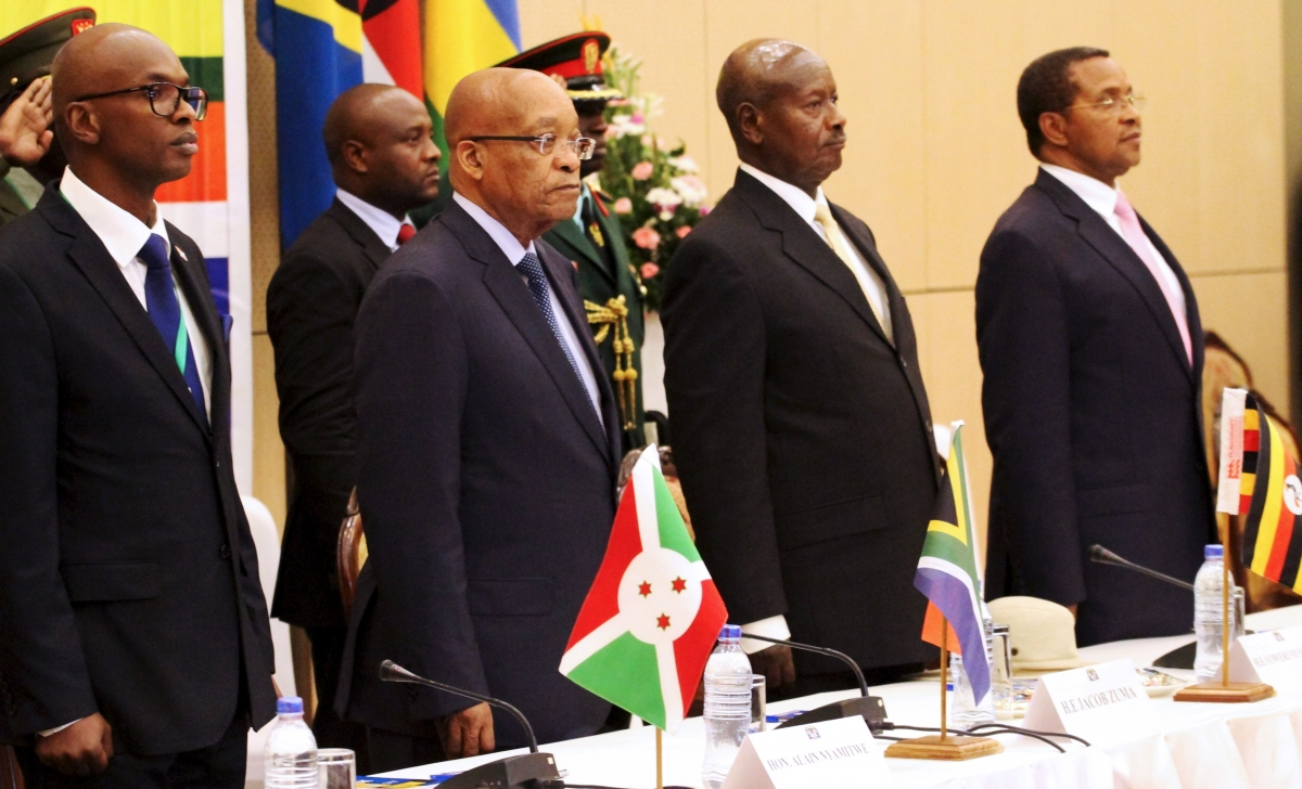 East African Community talks on Burundi
