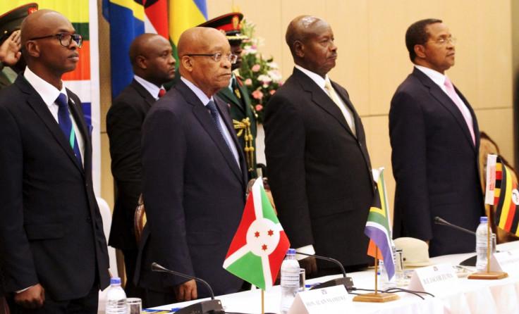 East African Community talks on Burundi