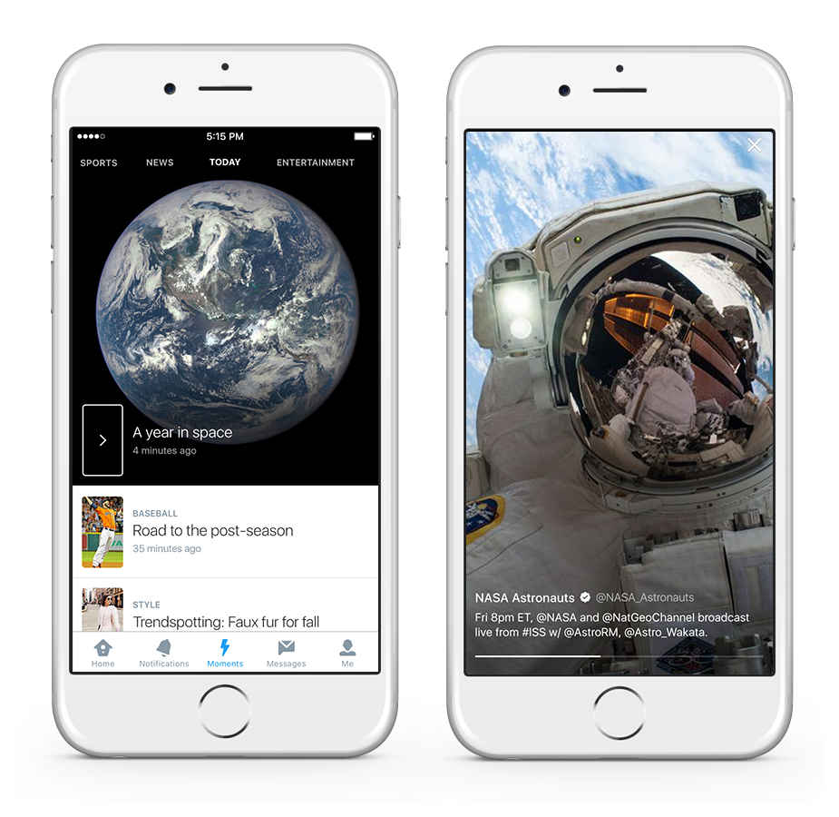 Twitter Moments iOS