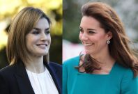 Queen Letizia and Kate Middleton