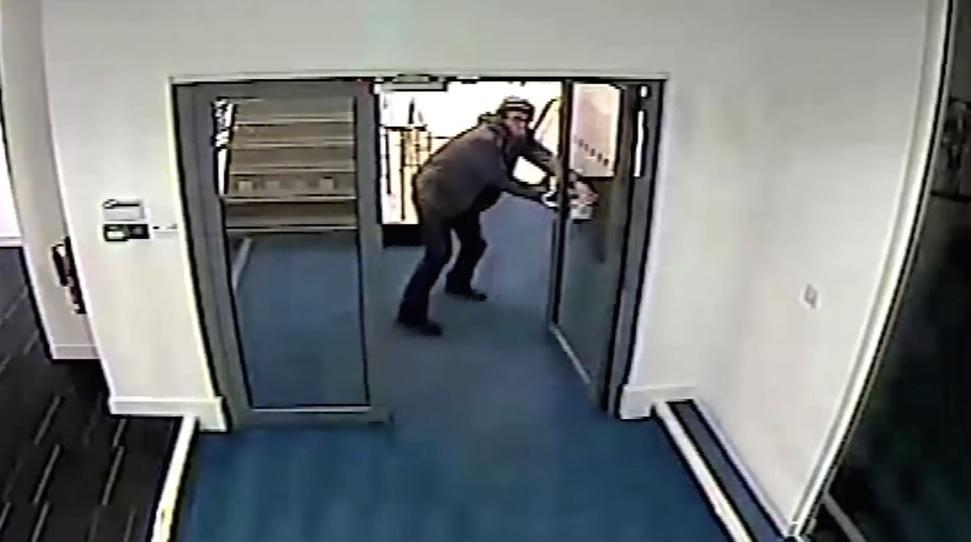 Manchester laptop theft