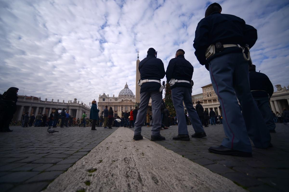 Police Vatican Jubilee