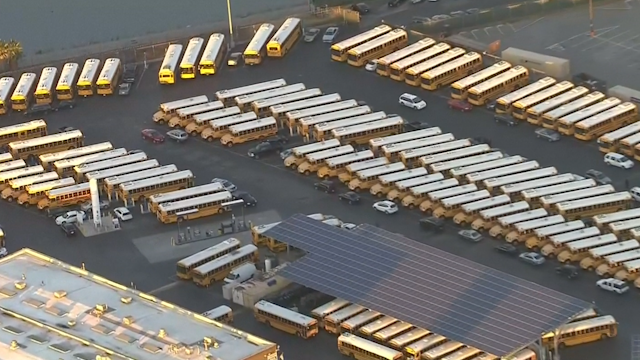 Los Angeles school buses