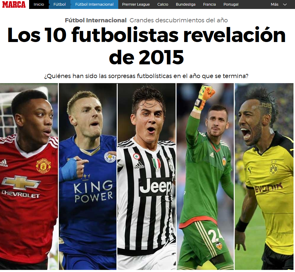 Manchester United S Anthony Martial Talks Debut Goal Vs: Marca Names Revelations Of The Year: Manchester United's