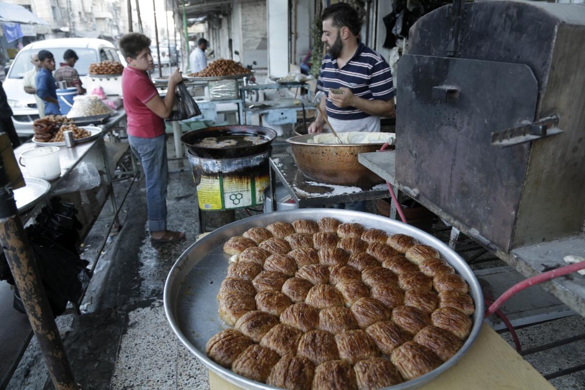 Syria market