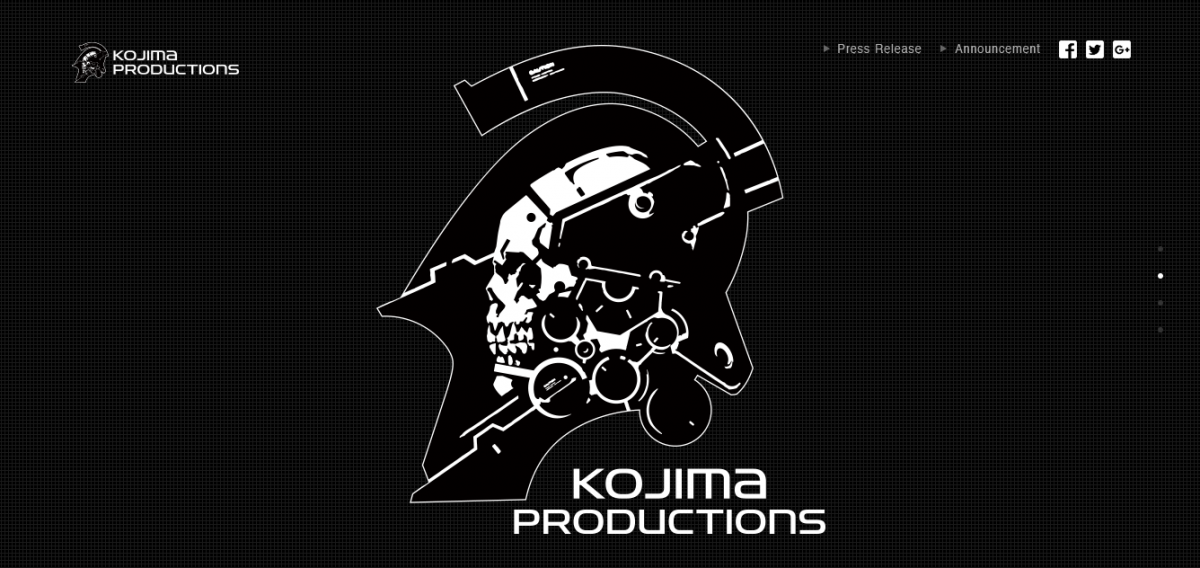 Kojima Productions PS4 New IP Hideo