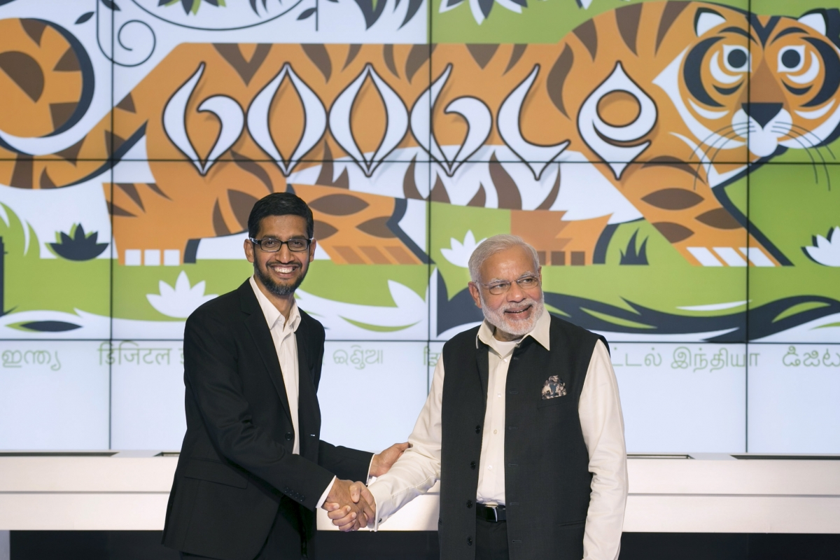 Google's Sundar Pichai India visit
