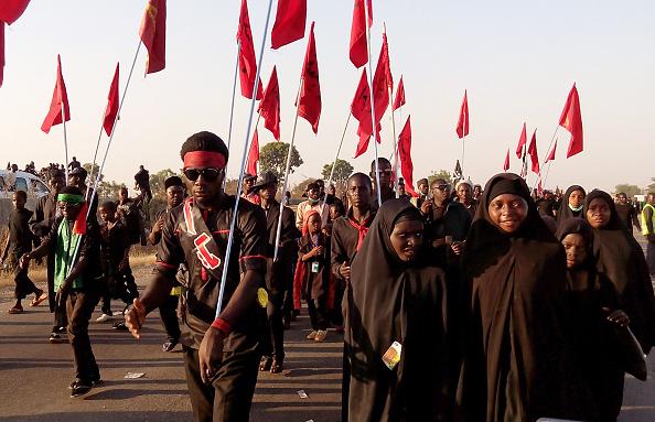 Shia Muslims protest Nigeria Zaria killing