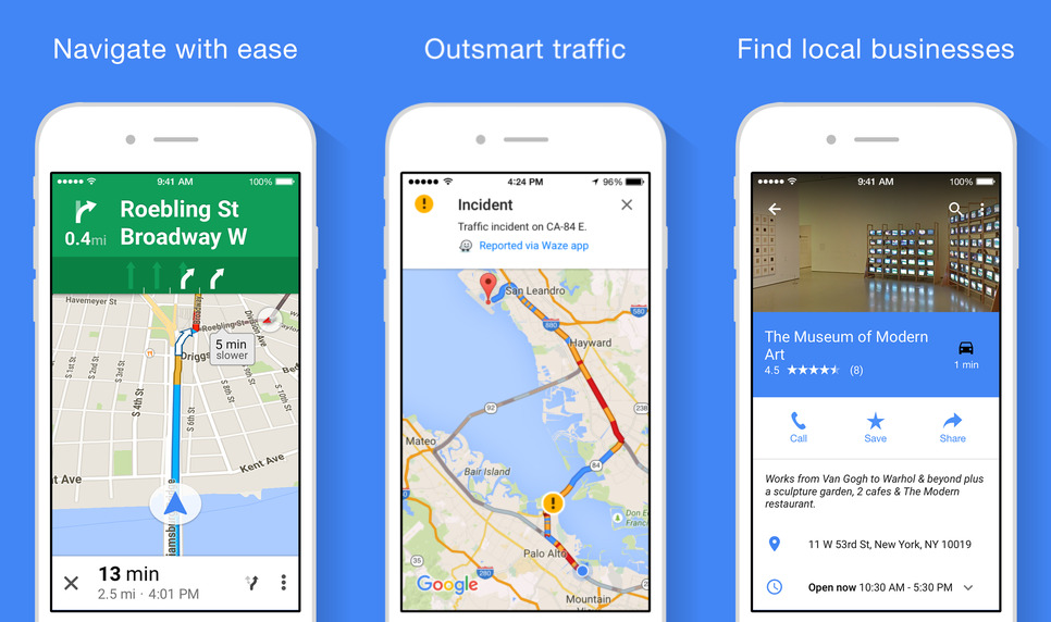 Google Maps offline feature in iOS