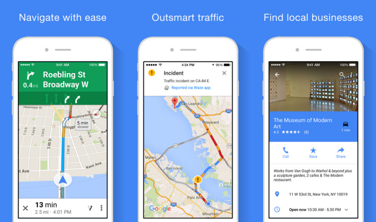 Google Maps now brings offline navigation to iOS users on