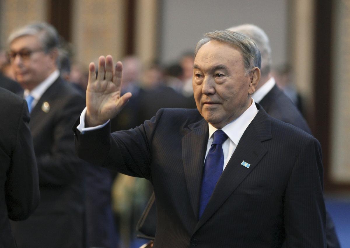 Kazakh president Nazerbayev