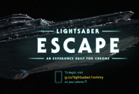 Google\'s Star Wars Lightsaber Escape