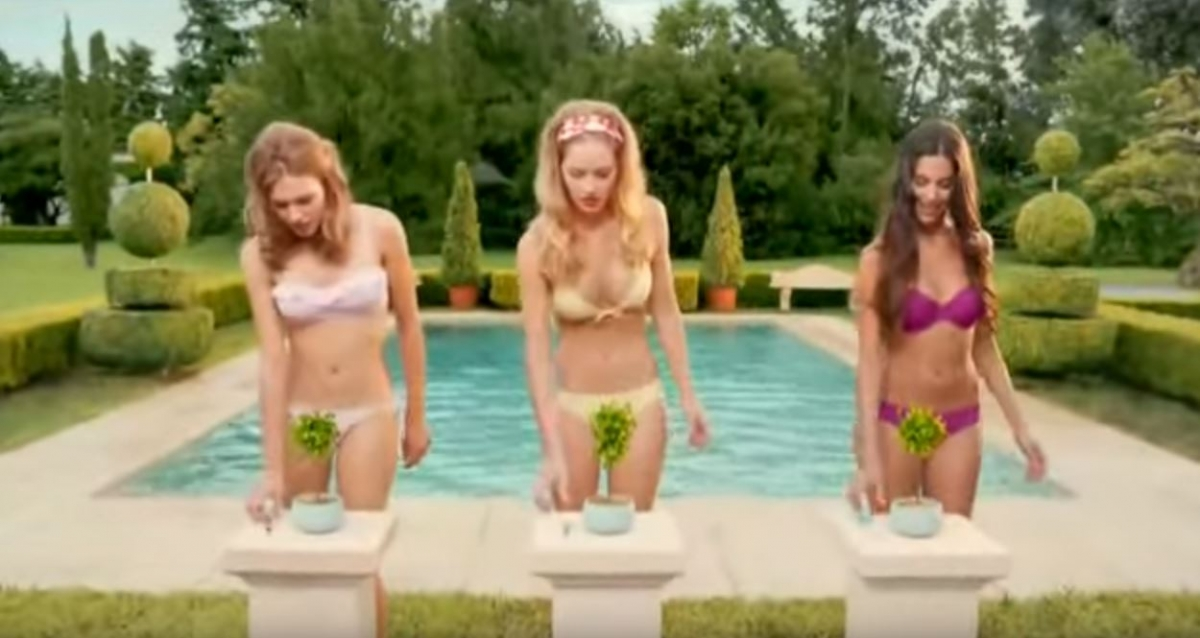 Australia ad bikini girl