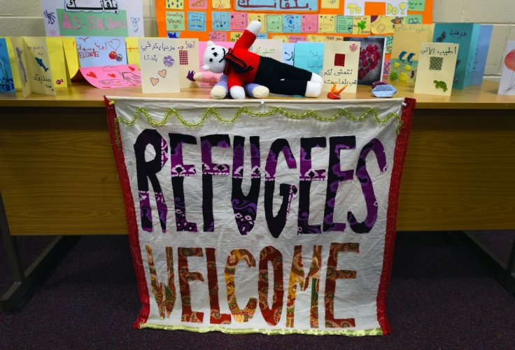 Syrian refugees arrive in Belfast