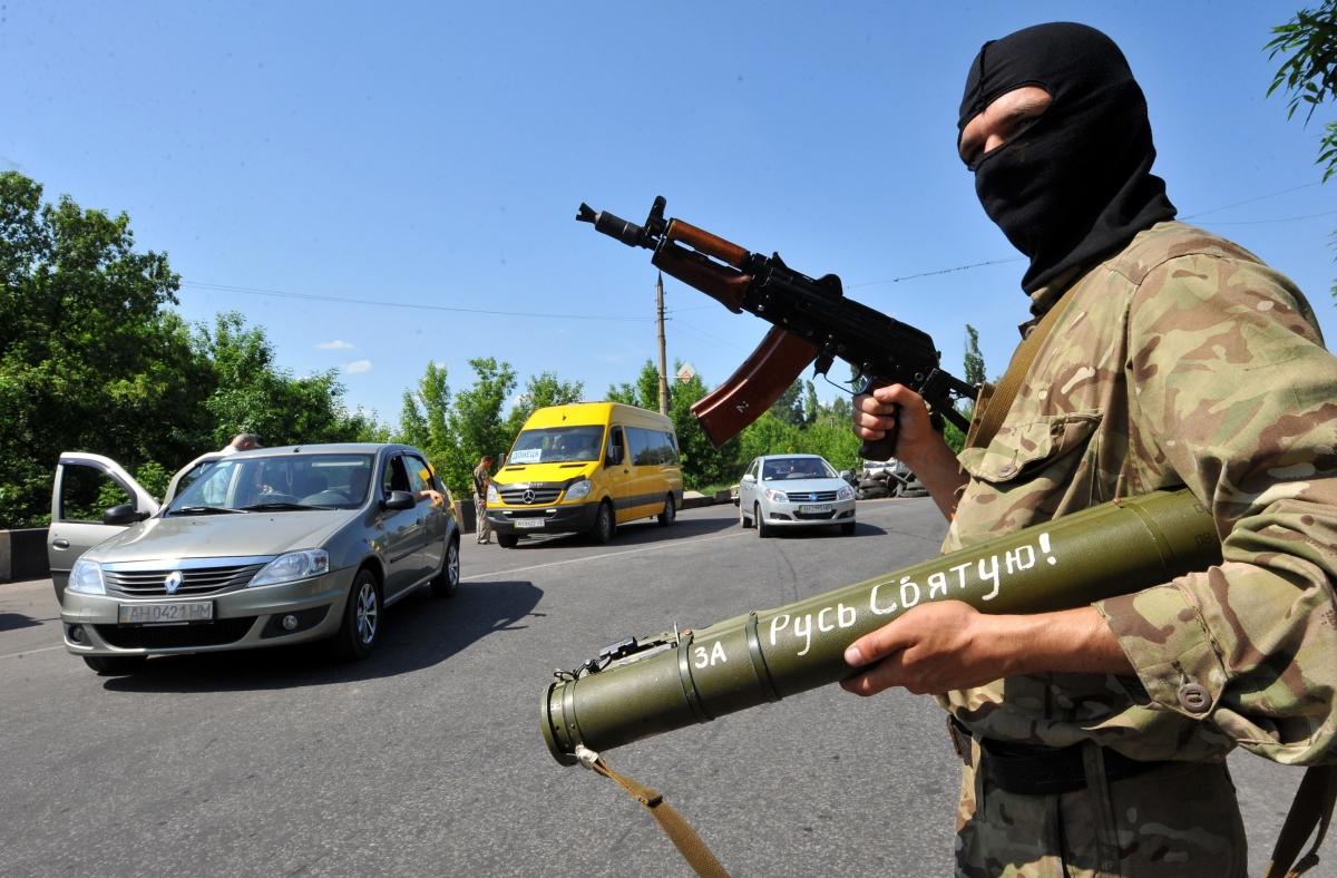 Pro-Russian militant