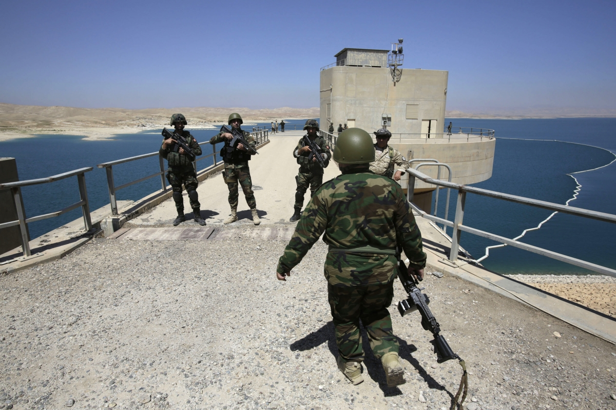 Italy deploys troops to Mosul Dam