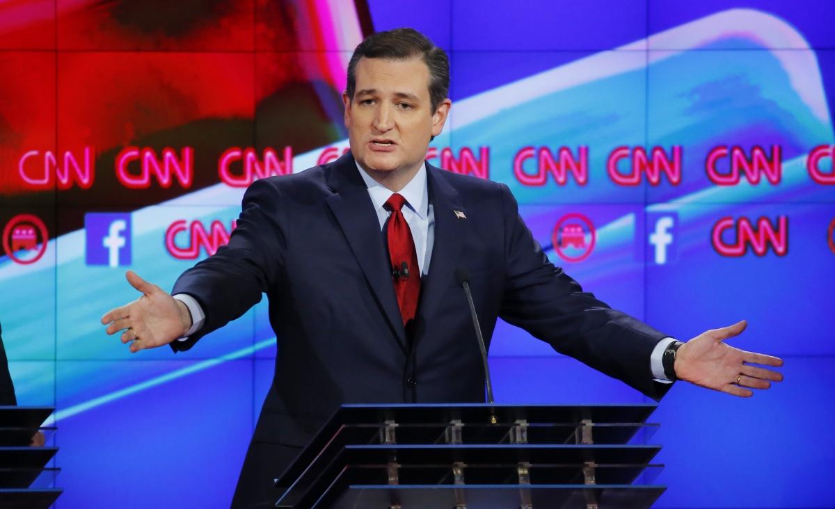 Ted Cruz at debate