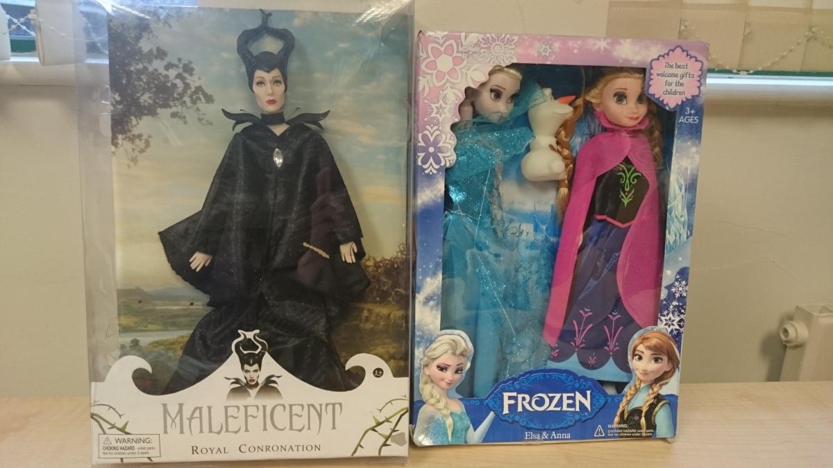 fake disney dolls