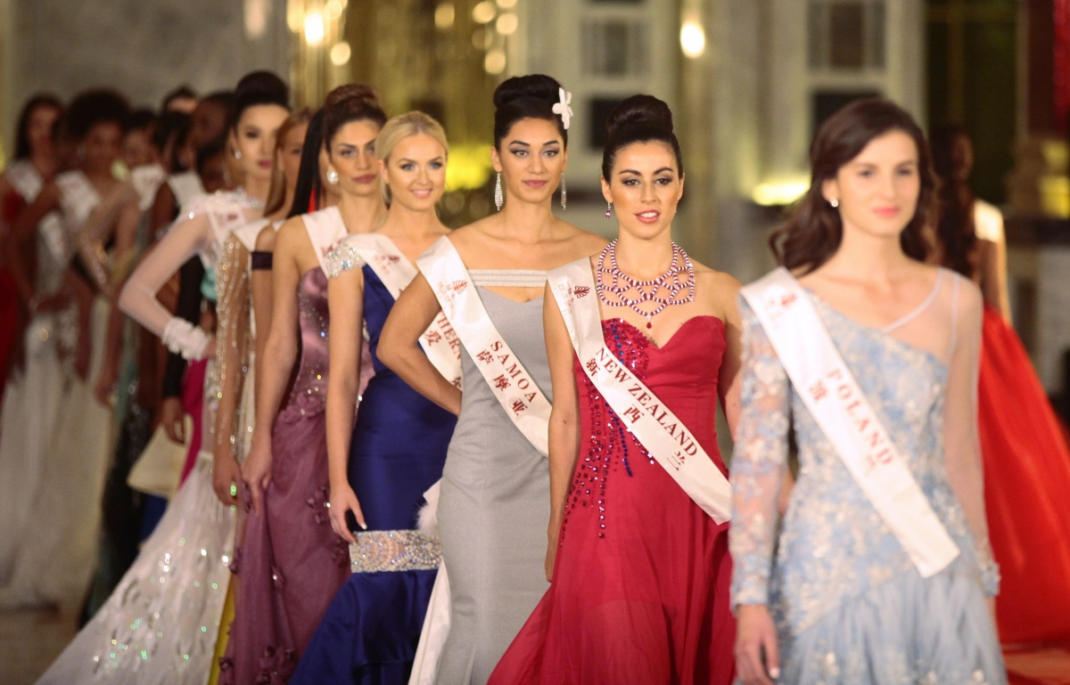 Miss World 2015 contestants