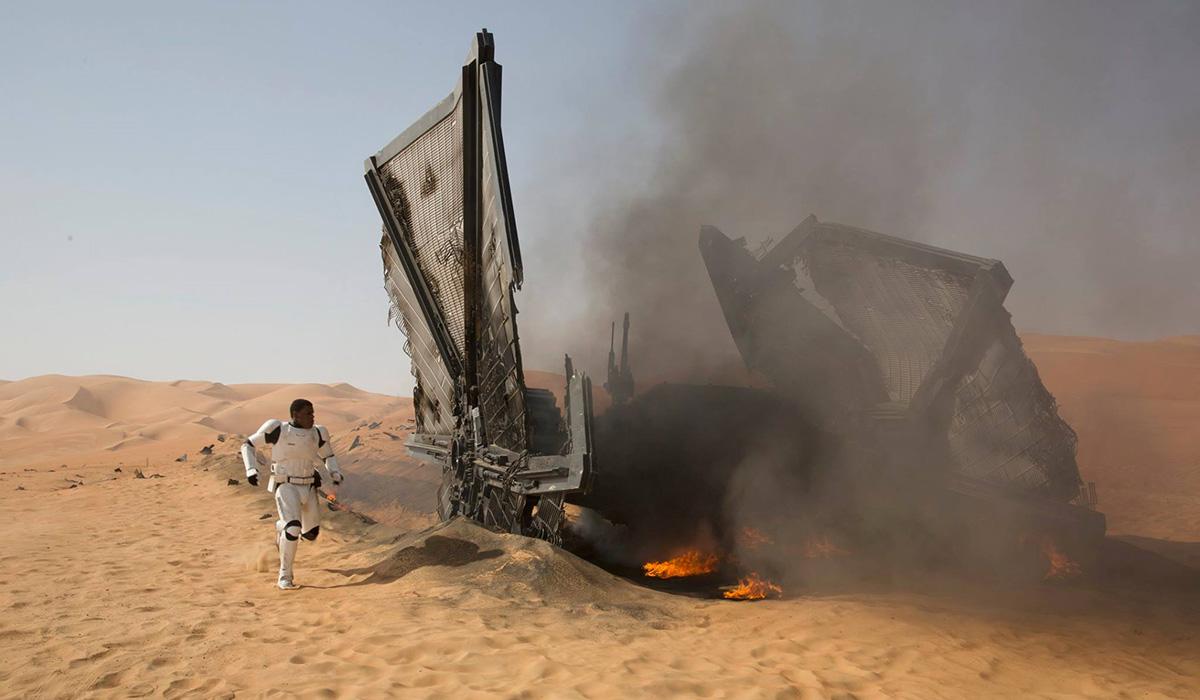 Star Wars The Force Awakens review Finn
