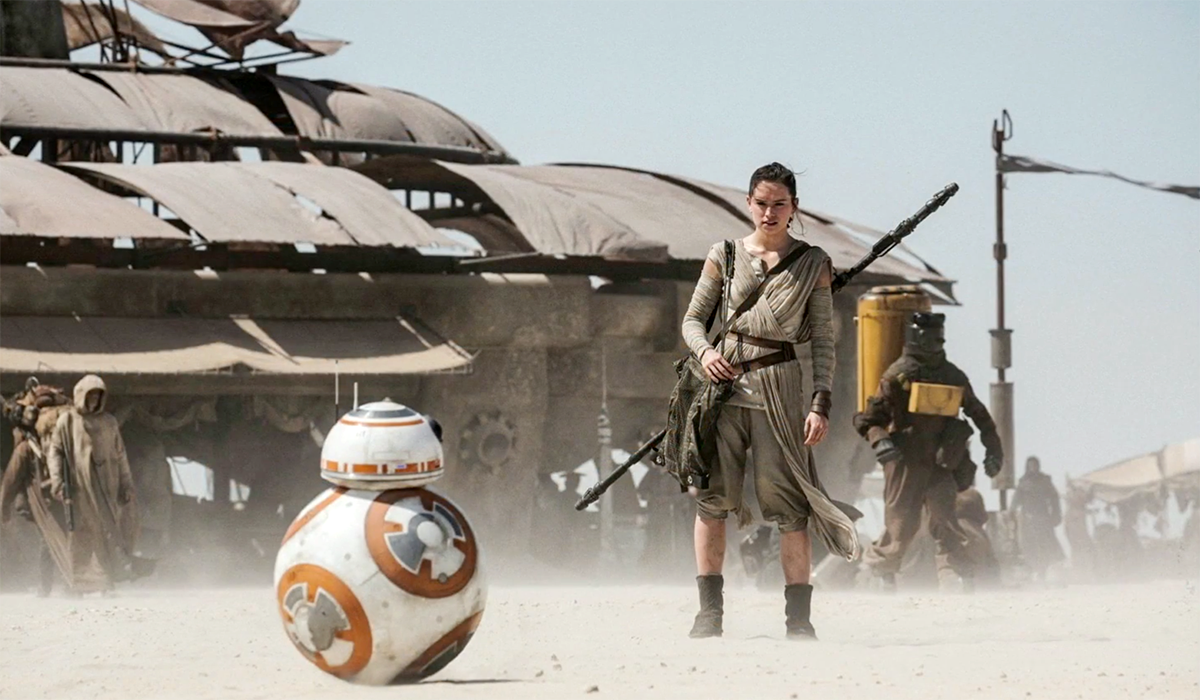 Star Wars The Force Awakens BB-8 Rey