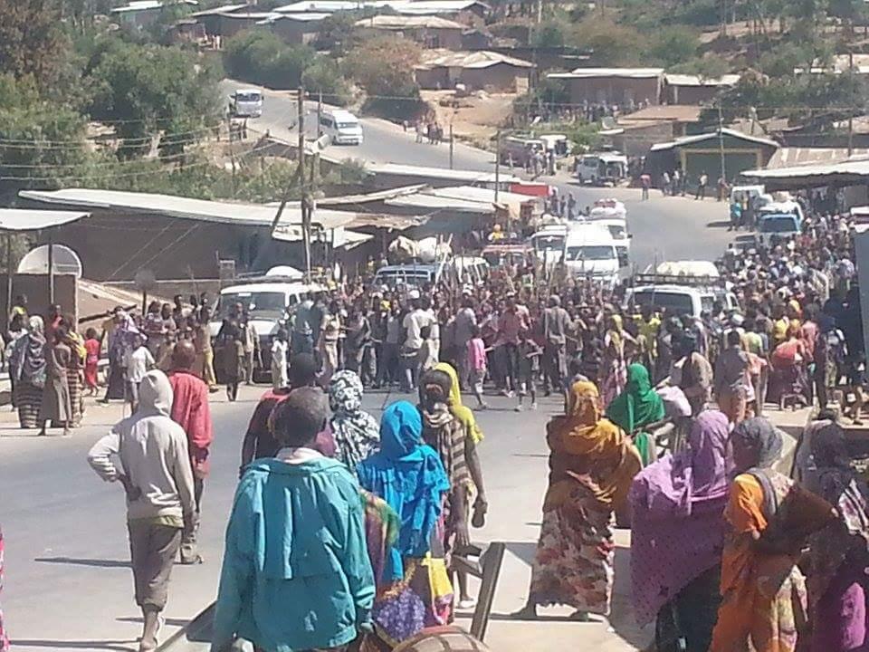 Oromo people protest