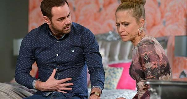 Linda and Mick eastenders