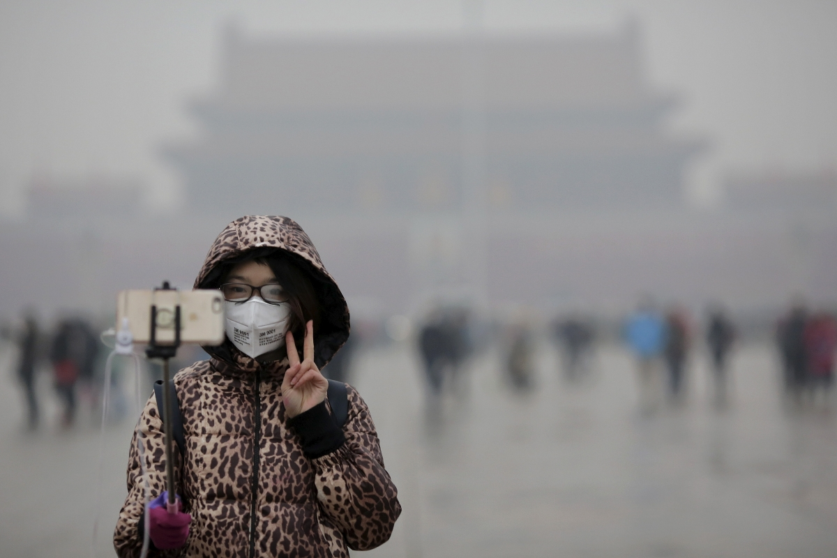 Towering air purifier will bring fresh air to smog-choked Xi'an