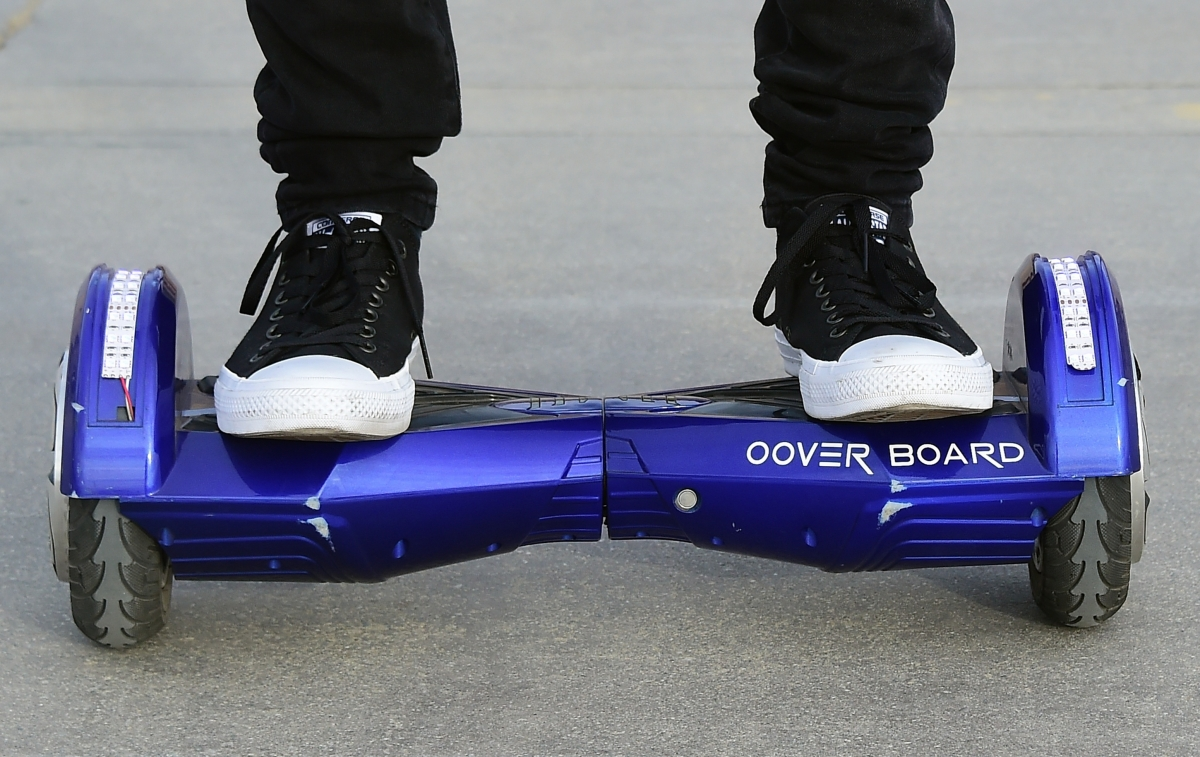 Hoverboards seized at UK ports