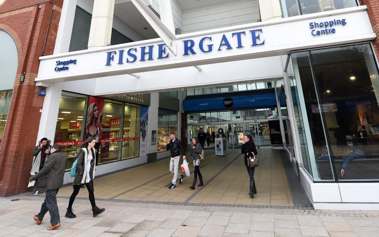 Preston Fishergate Shopping Centre Bomb Explosive