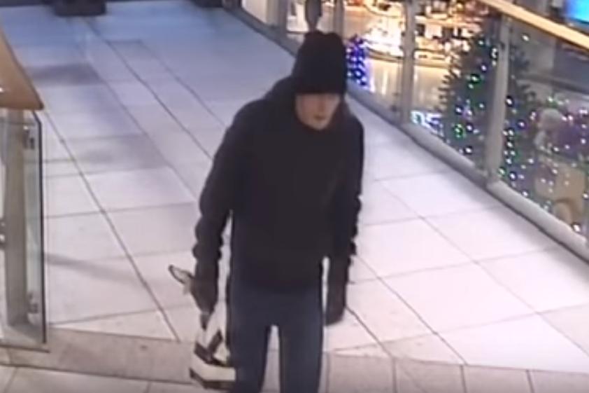 Preston Fishergate Bomb Suspect CCTV