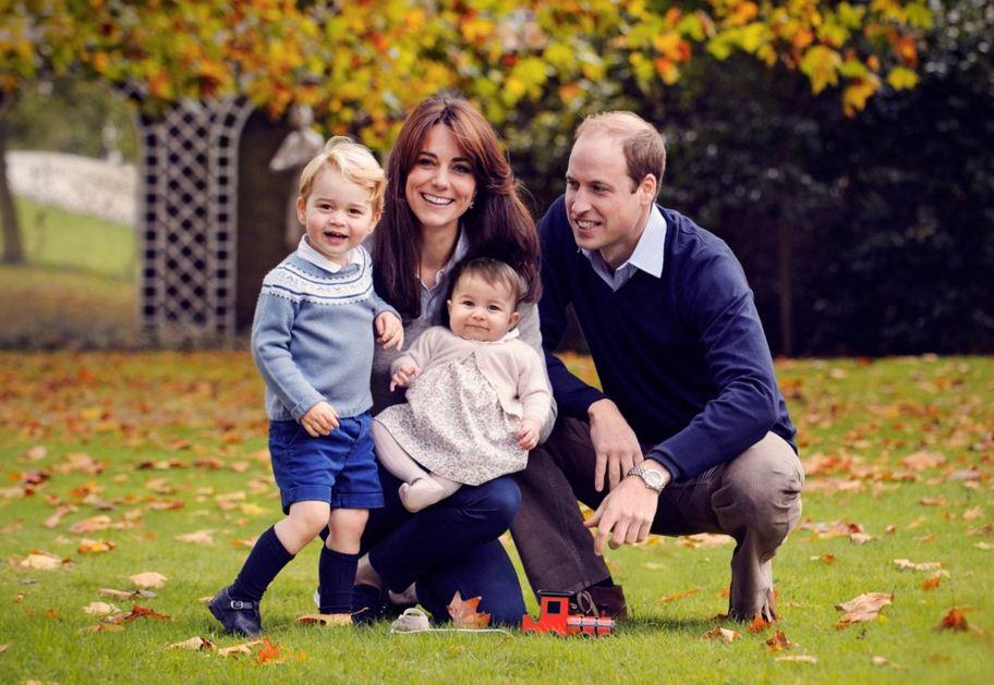 Royal family Christmas photo