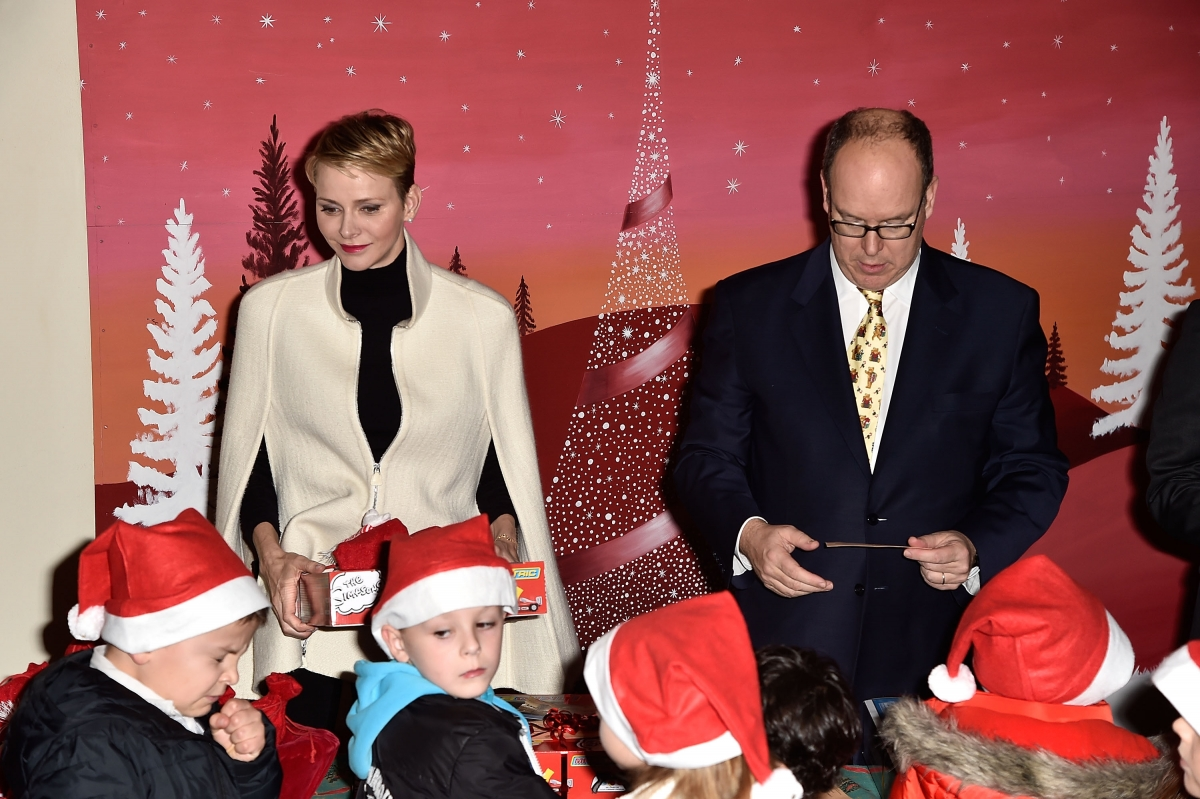 Princess Charlene of Monaco and Prince Albert II