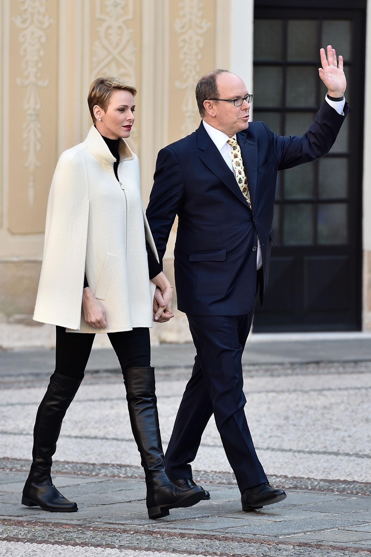 Princess Charlene of Monaco and Prince Albert II
